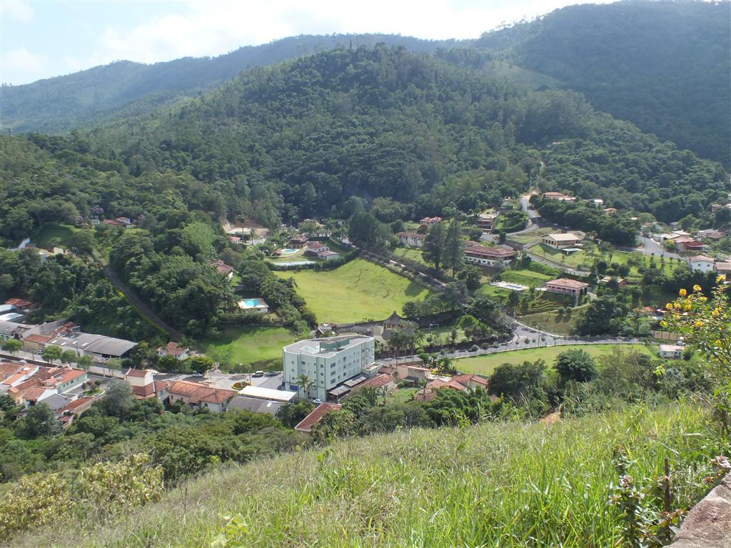 Viagem de moto - Vista de Monte Alegre do Sul - Mirante do Cristo