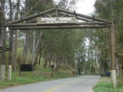 Estrada do parque - estrada dos Romeiros - APA-Rio Tietê