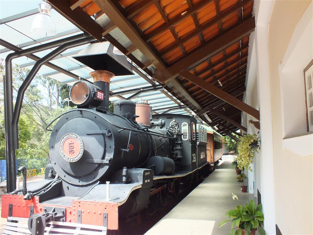 Viagem de moto - Monte Alegre do sul - antiga estão de trem