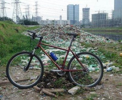 Passeio de bike pela marginal Pinheorps / SP